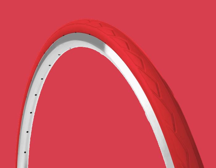 semislick  red