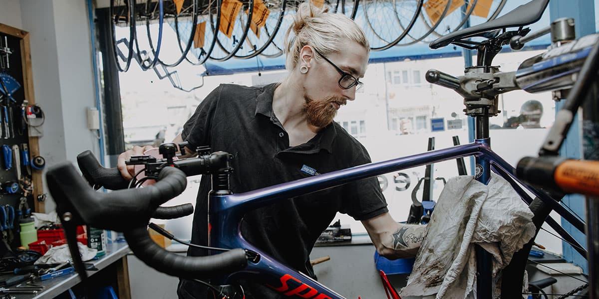 professional bicycle repairs